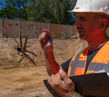 Geotechnische Baubetreuung